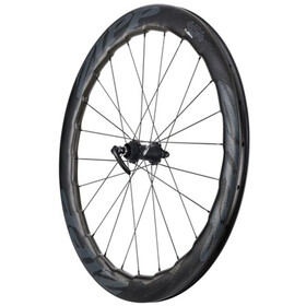 Zipp 454 NSW Disc Forhjul Carbon Clincher Centerlock, black